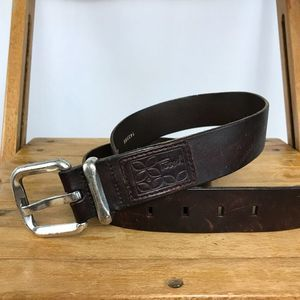 Fossil brown belt